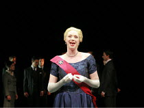 CYMBELINE   by Shakespeare   director: Declan Donnellan <br>,Gwendoline Christie (Queen),Cheek by Jowl / Barbican Theatre, London EC2        29/05/2007,