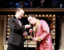 KEAN   by Jean Paul Sartre   adapted from the play by Alexander Dumas   translated by Frank Hauser   director: Adrian Noble <br>,l-r: Alex Avery (Prince of Wales), Antony Sher (Edmund Kean),Apollo The...