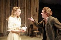 Romola Garai (Nina), Richard Goulding (Konstantin) in THE SEAGULL by Chekhov at the Royal Shakespeare Company (RSC), Courtyard Theatre, Stratford-upon-Avon, England  31/05/2007 ~design: Christopher Or...