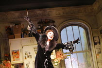 THE DROWSY CHAPERONE   music: Lisa Lambert & Greg Morrison   book: Bob Martin & Don McKellar   director/choreographer: Casey Nicholaw <br> ,Elaine Paige (The Drowsy Chaperone)   ,Novello Theatre, Lond...