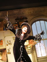 THE DROWSY CHAPERONE   music: Lisa Lambert & Greg Morrison   book: Bob Martin & Don McKellar   ,director/choreographer: Casey Nicholaw <br> ,Elaine Paige (The Drowsy Chaperone)   ,Novello Theatre, Lon...