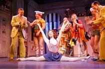 THE DROWSY CHAPERONE   music: Lisa Lambert & Greg Morrison   book: Bob Martin & Don McKellar   director/choreographer: Casey Nicholaw <br>,Summer Strallen (Janet Van De Graaff)   ,Novello Theatre, Lon...