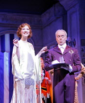 THE DROWSY CHAPERONE   music: Lisa Lambert & Greg Morrison   ,book: Bob Martin & Don McKellar   director/choreographer: Casey Nicholaw <br>,Summer Strallen (Janet Van De Graaff), Nickolas Grace (Under...