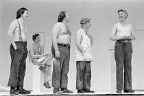 'A MIDSUMMER NIGHT'S DREAM' (Shakespeare: director - Peter Brook) Glynne Lewis (Flute), Terence Hardiman (Moonshine), Barry Stanton (Snug), Norman Rodway (Snout), Philip Locke (Quince) Royal Shakesp...