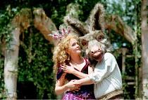 'A MIDSUMMER NIGHT'S DREAM' (Shakespeare)~Serena Evans (Titania), Ian Talbot (Bottom)~Open Air Theatre / Regent's Park, London                27/05/1997