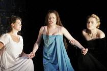 DON GIOVANNI   music: Mozart   libretto: da Ponte   original director: Francesca Zambello   ,design: Maria Bjornson   lighting: Paul Pyant <br>,l-r: Sarah Fox (Zerlina), Ana Maria Martinez (Donna Elvi...