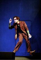 MACBETH by Shakespeare design: Stewart Laing lighting: Mimi Jordan Sherin fights arranger:Terry King director: Tim Albery ~Adrian Schiller (Porter)~Royal Shakespeare Company (RSC), Royal Shakespeare T...