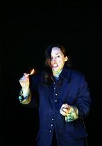MACBETH by Shakespeare design: Stewart Laing lighting: Mimi Jordan Sherin fights arranger:Terry King director: Tim Albery ~Brid Brennan (Lady Macbeth)~Royal Shakespeare Company (RSC), Royal Shakespear...
