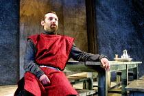 MACBETH by Shakespeare design: Bruno Santini lighting: Ben Ormerod director: James Roose-Evans ~~Peter Lindford (Macbeth)~Ludlow Castle Open Air Theatre, Ludlow Festival, Shropshire, England   26/06/2...