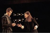 MACBETH  by Shakespeare  director: Stephen Unwin ~Paul Higgins (Macbeth), Hilary Lyon (Lady Macbeth) ~English Touring Theatre, Lyric Theatre Hammersmith, London W6  15/01/1996