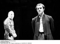 MACBETH  by Shakespeare  set design: Chris Dyer  costumes: Poppy Mitchell  lighting: Howard Eaton  director: Howard Davies ~Christopher Hunter (Malcolm)~Royal Shakespeare Company (RSC), Royal Shakespe...