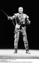 MACBETH  by Shakespeare  set design: Chris Dyer  costumes: Poppy Mitchell  lighting: Howard Eaton  director: Howard Davies ~Bob Peck (Macbeth)~Royal Shakespeare Company (RSC)  1983
