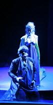 DAS RHEINGOLD   by Wagner   ,conductor: Anthony Negus   design: Kjell Torriset   director: Alan Privett <br>,Evelyn Krahe (Erda), Philip Joll (Wotan),Longborough Festival Opera, Gloucestershire, Engla...