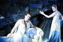 ARIADNE AUF NAXOS   music: Richard Strauss   libretto: Hugo von Hofmannsthal   conductor: Elgar Howarth   director: Martin Duncan <br>,l-r: Orla Boylan (Ariadne), Susan Atherton (Dryad)   ,Garsington...