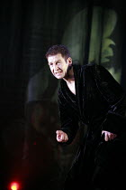 Greg Hicks (Roy Cohn) in ANGELS IN AMERICA  by Tony Kushner at the Lyric Hammersmith, London W6   26/06/2007  a Headlong Theatre /  Citizens Theatre Glasgow / Lyric Hammersmith co-production  design:...