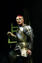 EDWARD III  by Shakespeare  design: Patrick Connellan  lighting: Wayne Dowdeswell  director: Anthony Clark ~David Rintoul (King Edward III)~Royal Shakespeare Company (RSC), Swan Theatre, Stratford-upo...