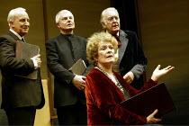 'THE HOLLOW CROWN' (devised/directed by John Barton) l-r: Ian Richardson, Derek Jacobi, Janet Suzman, Donald Sinden Royal Shakespeare Theatre, Royal Shakespeare Company (RSC)   Stratford-upon-Avon...