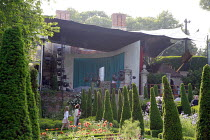 Garsington Opera / Oxford, England ~showing covered stage area