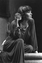 NIGHT AND DAY  by Tom Stoppard  design: Carl Toms  lighting: Robert Bryan  director: Peter Wood <br> ~Diana Rigg (Ruth Carson) ~Phoenix Theatre, London WC2  08/11/1978 ~(c) Donald Cooper/Photostage...