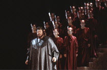 AIDA   by Verdi   conductor: Zubin Mehta   director/set design: Jean-Pierre Ponnelle <br>,Luciano Pavarotti (Radames)   ,The Royal Opera / Covent Garden, London WC2          02/06/1984   ,
