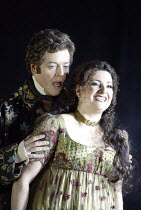 'TOSCA' (Puccini - original director: David McVicar),Julian Gavin (Mario Cavaradossi), Claire Rutter (Floria Tosca),English National Opera / London Coliseum  WC2         05/03/2004,