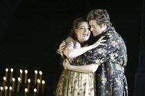 'TOSCA' (Puccini - original director: David McVicar),Claire Rutter (Floria Tosca), Julian Gavin (Mario Cavaradossi),English National Opera / London Coliseum  WC2         05/03/2004,