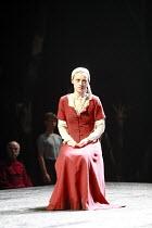 SAINT JOAN   by G B Shaw   director: Marianne Elliott <br>,Anne-Marie Duff (Joan),Olivier Theatre / National Theatre, London SE1                 11/07/2007,