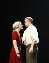 SAINT JOAN   by G B Shaw   director: Marianne Elliott <br>,Anne-Marie Duff (Joan), Brendan O^Hea (Robert de Baudricourt),Olivier Theatre / National Theatre, London SE1                 11/07/2007,