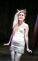 ANIMAL FARM   by George Orwell   ,adapted by Peter Hall   lyrics: Adrian Mitchell   music: Richard Peaslee   director: Rachel O^Riordan <br>,Rebecca Jackson (Mollie/Minimus),Theatre Royal Bath, Englan...