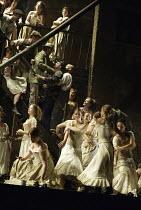 CARMEN  by Georges Bizet  conductor: Philippe Jordan  set design: Michael Vale  costumes: Sue Blane  lighting: Paule Constable  fights: Nicholas Hall  choreography: Andrew George  director: David McVi...