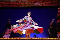 JOSEPH AND THE AMAZING TECHNICOLOR DREAMCOAT   lyrics: Tim Rice   music: Andrew Lloyd Webber   original director: Steven Pimlott  <br> ,Lee Mead (Joseph) ,Adelphi Theatre, London WC2...