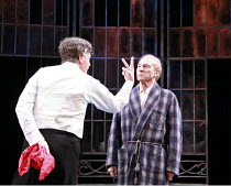 TWELFTH NIGHT   by Shakespeare   director: Philip Franks <br>,Paul Shelley (Sir Toby Belch), Patrick Stewart (Malvolio), Chichester Festival Theatre / West Sussex, England          20/07/2007,