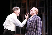 TWELFTH NIGHT   by Shakespeare   director: Philip Franks <br>,l-r: Paul Shelley (Sir Toby Belch), Patrick Stewart (Malvolio), Chichester Festival Theatre / West Sussex, England          20/07/2007,