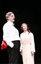 TWELFTH NIGHT   by Shakespeare   director: Philip Franks <br>,II/iii: Paul Shelley (Sir Toby Belch), Suzanne Burden (Maria),Chichester Festival Theatre / West Sussex, England            20/07/2007,
