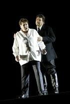 'TRISTAN UND ISOLDE' (Wagner)~l-r: Wolfgang MUller-Lorenz (Tristan), Alan Titus (Kurwenal)~The Royal Opera/Covent Garden, London WC2                     05/04/2002