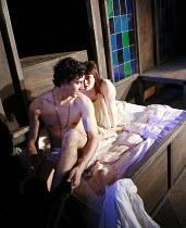 ROMEO AND JULIET   by Shakespeare   director: Polly Findlay ,Jack Gordon (Romeo), Natasha Barrero (Juliet),Battersea Arts Centre (BAC), London SW11                        24/07/2007   ,