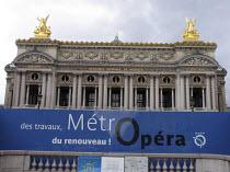 """OPÉRA NATIONAL DE PARIS GARNIER <br>,Pl de l""""Opéra, Paris                  07/2007,"""