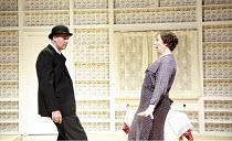 GLADLY OTHERWISE   by N.F. Simpson   director: Douglas Hodge <br>,John Hodgkinson (Man), Judith Scott (Mrs Brandywine),part of ^Absurdia^, a triple bill of British Absurdist comedies,Donmar Warehouse...