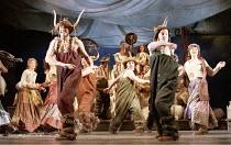 THE WINTER'S TALE by Shakespeare  design: Robert Jones  lighting: Tim Mitchell  director: Gregory Doran ~IV/iv - Bohemia - the village fete~Royal Shakespeare Company (RSC), Royal Shakespeare Theatre S...