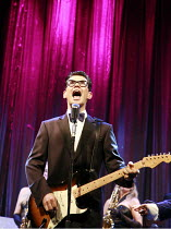 BUDDY - The Buddy Holly Story   director: Rob Bettinson <br>,Matthew Wycliffe (Buddy Holly),Duchess Theatre, London WC2                       07/08/2007   ,