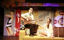 BUDDY - The Buddy Holly Story   director: Rob Bettinson <br>,Matthew Wycliffe (Buddy Holly), Lucia Rovardi (Maria Elena Holly),Duchess Theatre, London WC2                       07/08/2007   ,
