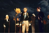THE TEMPEST  by Shakespeare  design: Anthony Ward  lighting: Paul Pyant  movement: Terry John Bates  director: Sam Mendes <br> left: Clifford Rose (Gonzalo)   centre: Paul Greenwood (Alonso) Royal S...