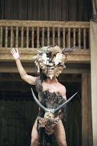 "OTRA TEMPESTAD (Another Tempest)   after Shakespeare   director: Flora Lauten<br>,José Juan Rodriques (Caliban),Teatro Buendia / Cuba   Shakespeare""s Globe, London SE1                   21/07/1998..."