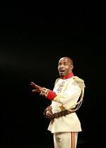 "THE EMPEROR JONES   by Eugene O""Neill   director: Thea Sharrock <br>,Paterson Joseph (Brutus Jones),Olivier Theatre / National Theatre, London SE1                 28/08/2007,"