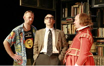 I AM SHAKESPEARE   conceived and written by Mark Rylance   devised by the company   directed by Mark Rylance & Matthew Warchus <br>,l-r: Sean Foley (Barry), Mark Rylance (Frank Charlton), Colin Hurley...