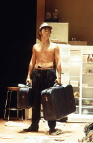 TRUE WEST   by Sam Shepard   director: Matthew Warchus <br>,Mark Rylance (Austin/Lee - alternated roles),Donmar Warehouse / London WC2            10/11/1994     ,