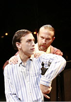TWELFTH NIGHT   by Shakespeare   director: Neil Bartlett <br>,l-r: Chris New (Viola), Jason Merrells (Orsino),Royal Shakespeare Company / Courtyard Theatre, Stratford-upon-Avon, England     05/09/2007...