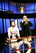 CASANOVA   by Carol Ann Duffy & Told by an Idiot   director: Paul Hunter <br>,Hayley Carmichael (Casanova), Johannes Flaschberger,West Yorkshire Playhouse (WYP) / Leeds, England            12/09/2007...