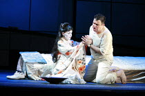MADAMA BUTTERFLY   by Puccini   conductor: Wyn Davies   set design: Hildegard Bechtler   ,costume design: Ana Jebens   lighting design: Peter Mumford   director: Tim Albery <br>,Anne Sophie Duprels (C...