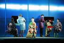 MADAMA BUTTERFLY   by Puccini   ,conductor: Wyn Davies   set design: Hildegard Bechtler   costume design: Ana Jebens   lighting design: Peter Mumford   director: Tim Albery <br>,prologue - seated cent...